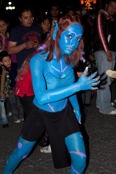 Puebla Town Square (Halloween celebration)