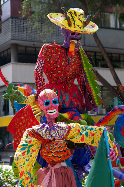 Mexico City Halloween Monsters