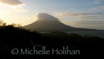 Mt. Concepcion at sunset
