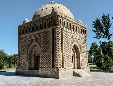 Old Town, Masoleum Ismail Sammonig, Madrassah Bolo-Xauz, Bukhara, Uzbekistan