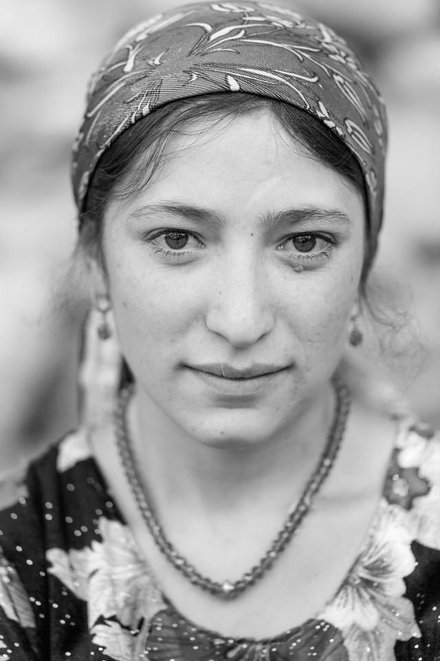 Local woman, Langar, Wakhan Valley, Tajikistan