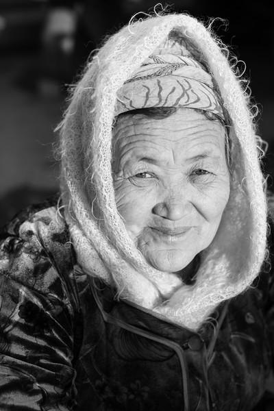 Local Woman, Nukus Bazaar, Karakalpakstan, Uzbekistan