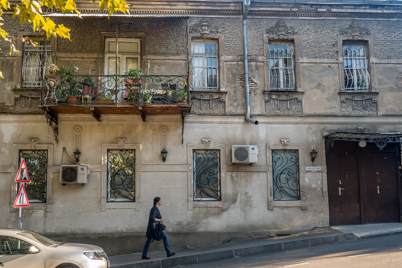 I wandered for hours and days throughout the town to get a feel for the people and the places. In the historic Old Town, Tbilisi, Georgia.