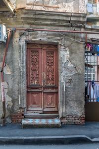 Beautiful doors and balconies