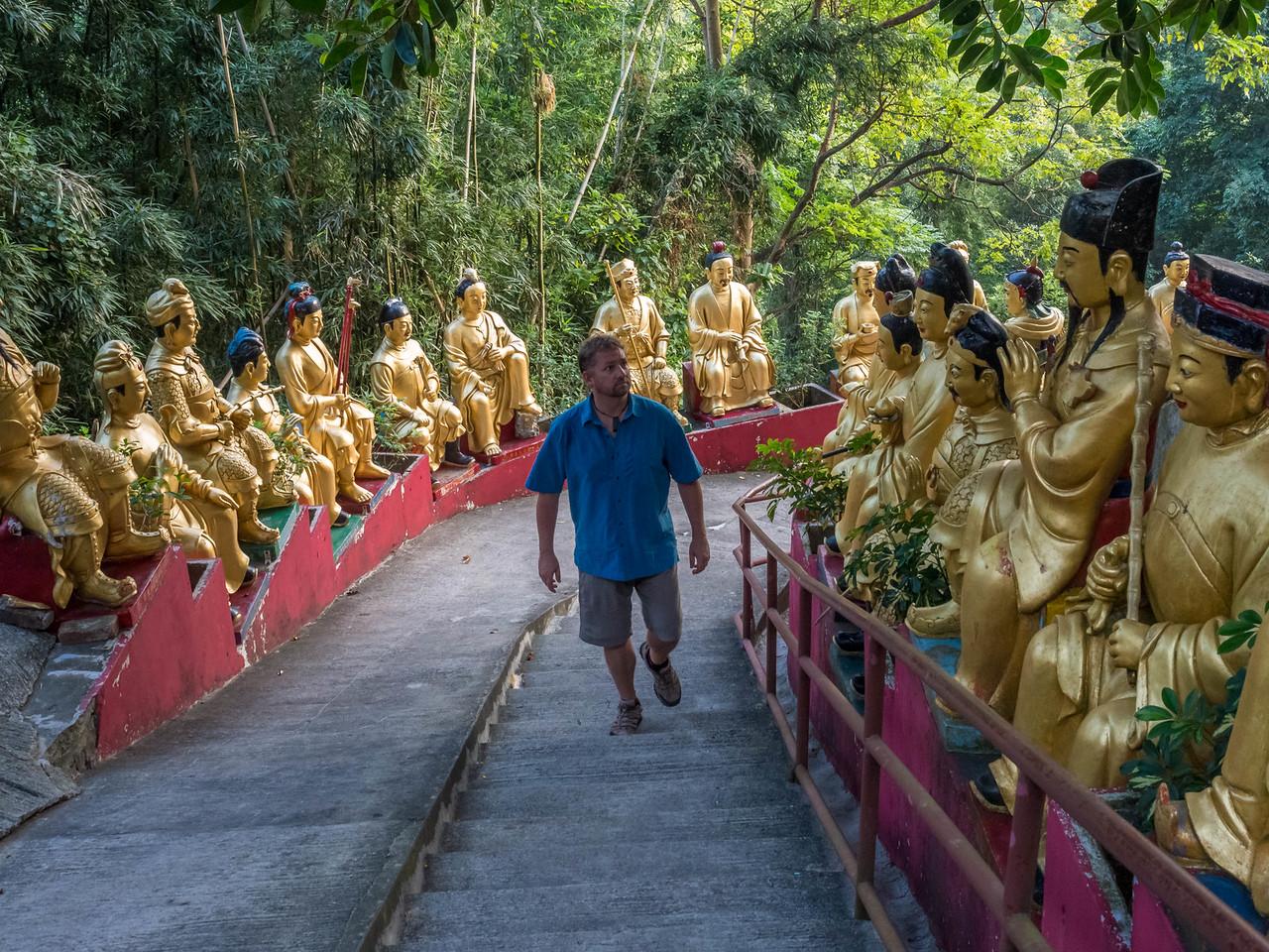 10,000 Buddhas Monastery Hong Kong
