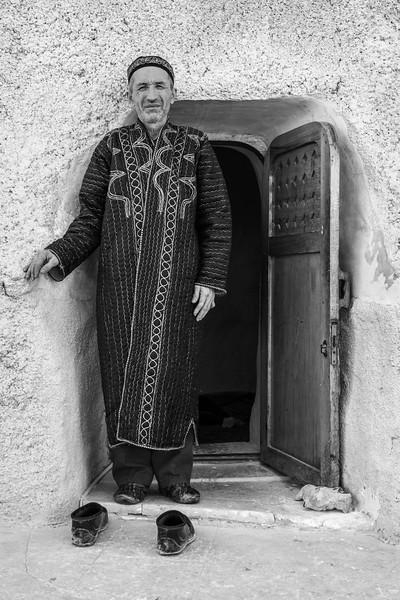 Mullah at the Kazakh Cave Mosque of Beket Ata