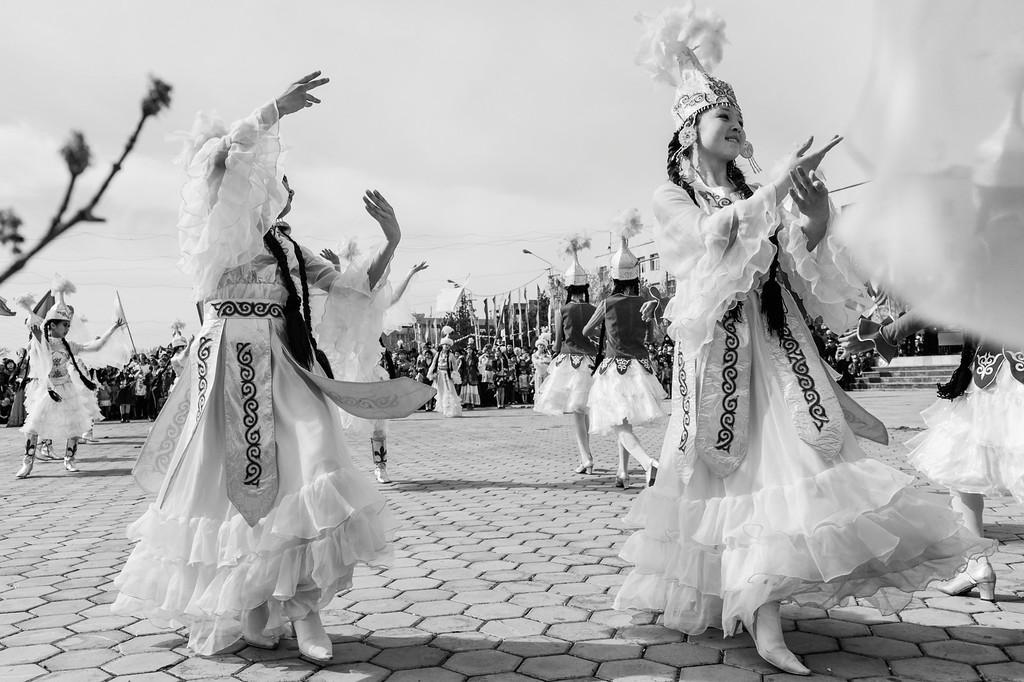 Nowruz Celebrations, Esim Khan Square, Turkistan