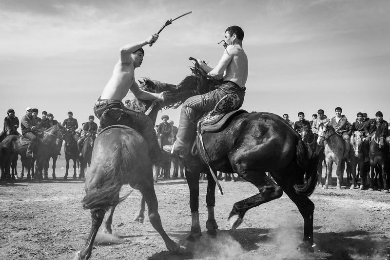 Horseback Wrestling, Nowruz, Temirlan