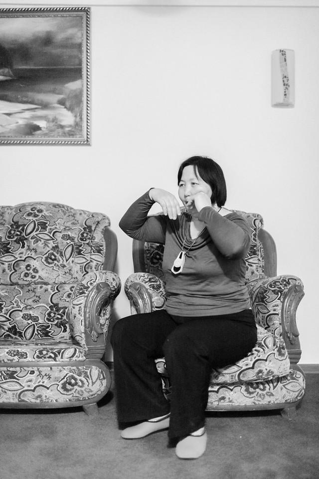 Woman Playing the 'Jew's Harp', Hotel Yassy, Turkistan