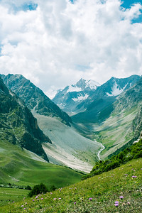 Hiking in Kyrgyz-Ata National Park  in Osh, Kyrgyzstan.