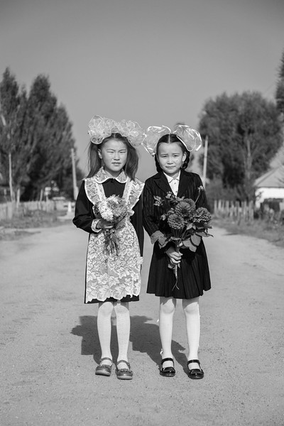 Schoolgirls, Temir-Kanat (Iron Wing)