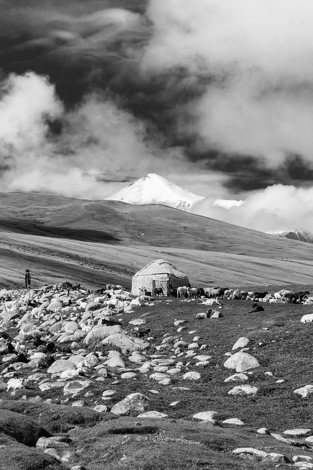 Yurt at Gul Bil (Lake Belt)