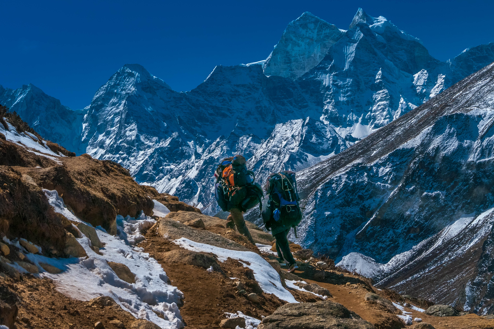Packing everest base camp