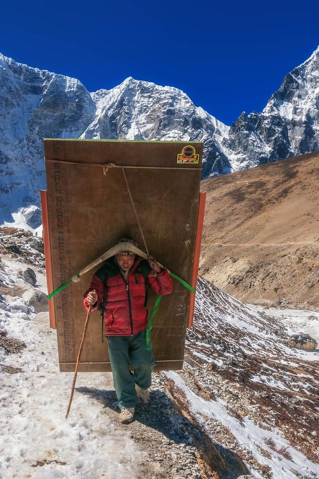Sherpas of mount everest