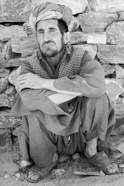Afghan trader in turban, Afghan Market, Ishkashim