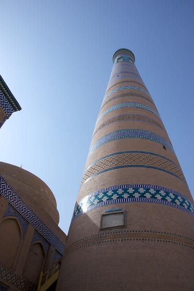 Minaret of the madrasa of Islam Khoja