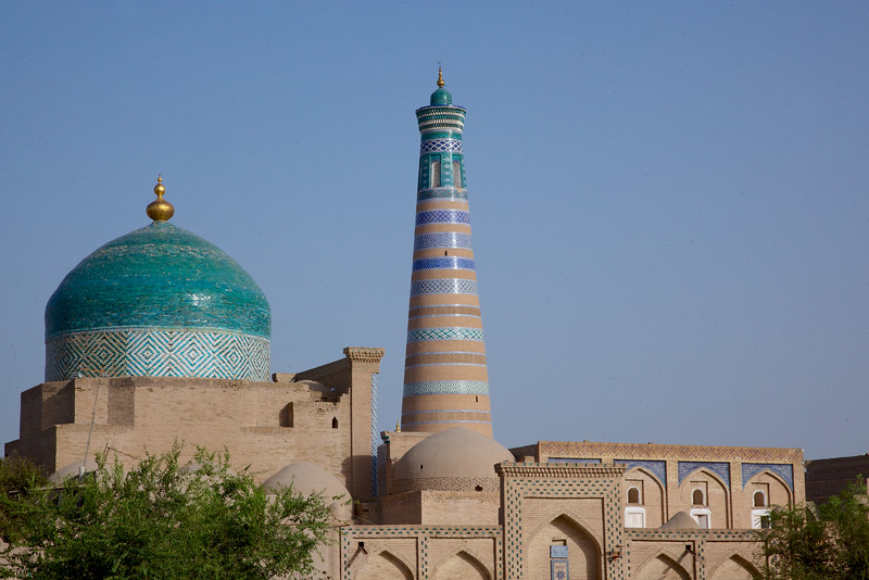 Minaret of the madrasa of Islam Khoja