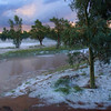 After the hail storm