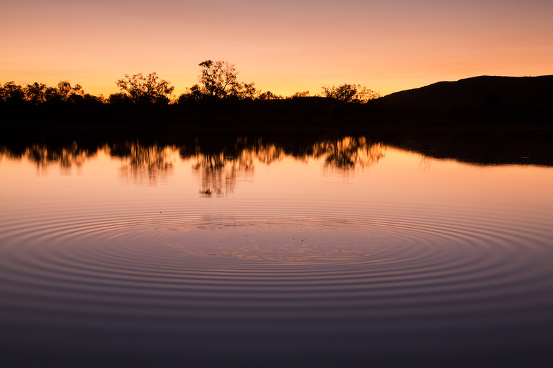 Ripples in the Pan