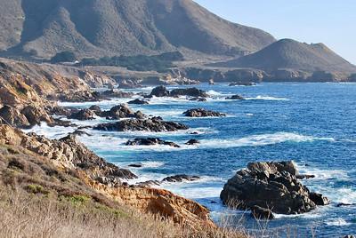 Central California Rocky Coastline