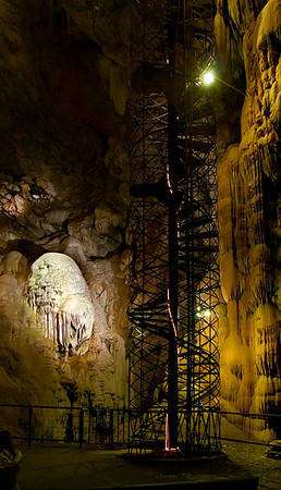 Spiral Staircase of 234 steps, Moaning Cave,
