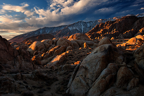 Sunrise, Alabama Hills, Lone Pine.