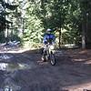 Naches Trail thru the slippery muck