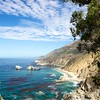 Beautiful McWay Cove in Julia Pfeiffer Burns State Park in Big Sur, California