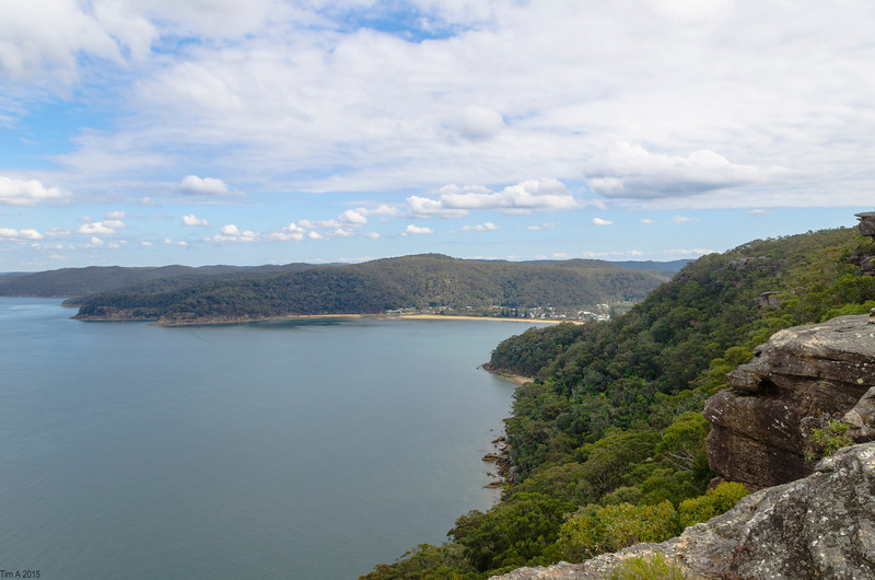 patonga from pearl beach fire trail