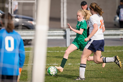 Girls Middle School Soccer   Central Dauphin vs. Hershey   April 4, 2019