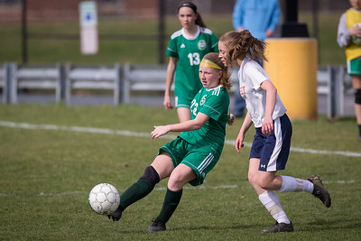 Girls Middle School Soccer | Central Dauphin vs. Hershey | April 4, 2019
