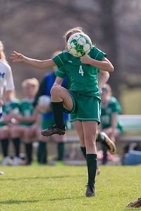 Girls Middle School Soccer | Central Dauphin vs. Middletown | April 11, 2019