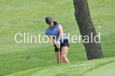 Central DeWitt Invitational girls golf (4-25-17)