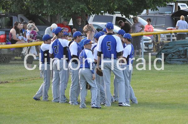 Central DeWitt at Camanche baseball 5-25-15