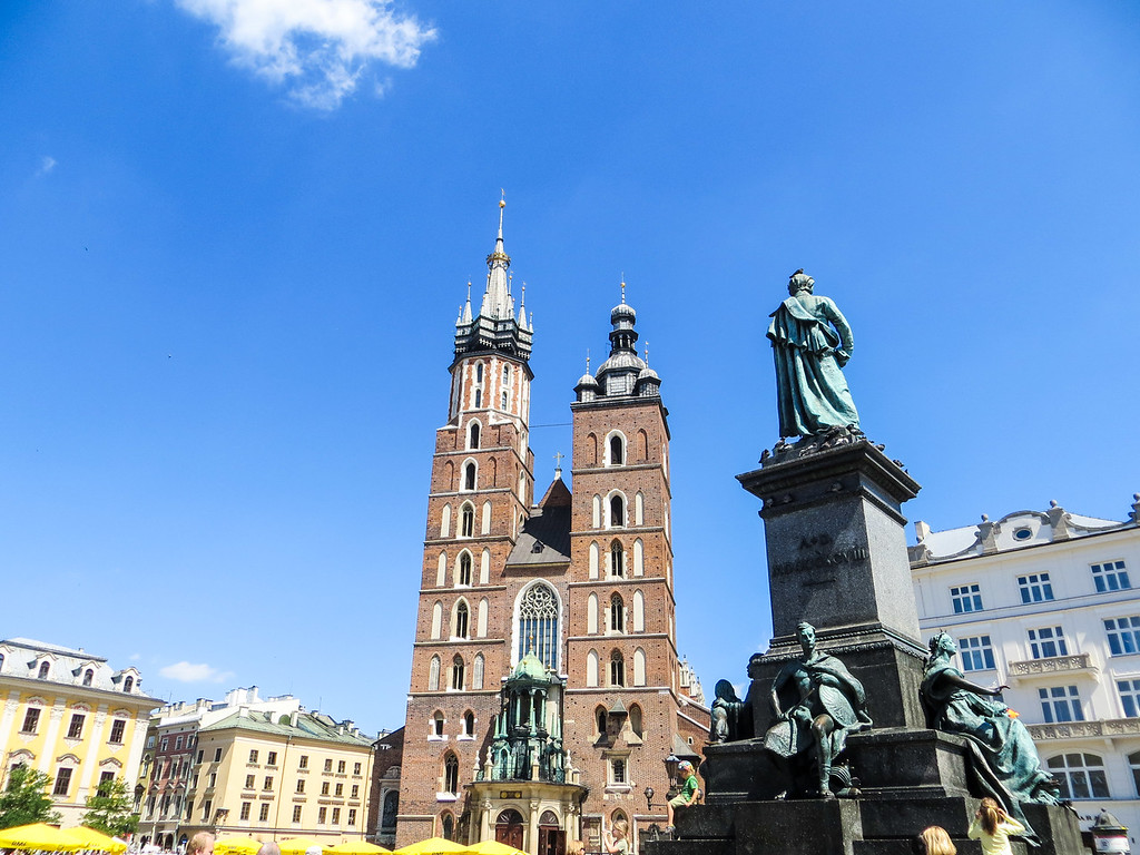There are so many great things to do in Krakow including the Town Square
