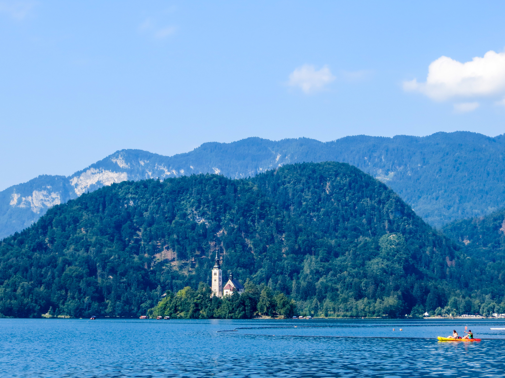 bled is a great option for your first trip to europe