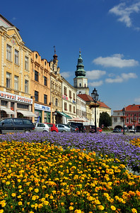 Kromeriz Grand Square, Czech Republic