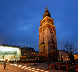 Market Square with Town Hall Tower, Krakow