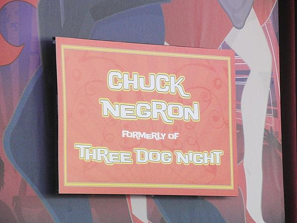 Chuck Negron(Three Dog Night)