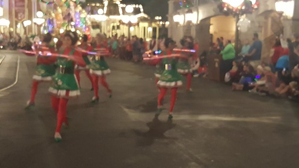 WDW Magic Kingdom Once Upon A Christmas Parade Second Viewing