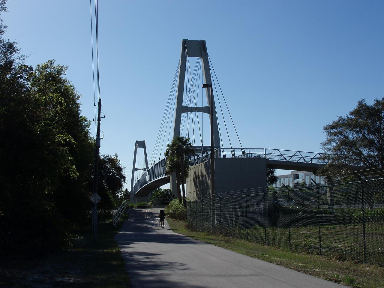 Bridge over Interstate 4<br /> location: Lake Mary<br /> Photo credit: FTA / Bob Coveney