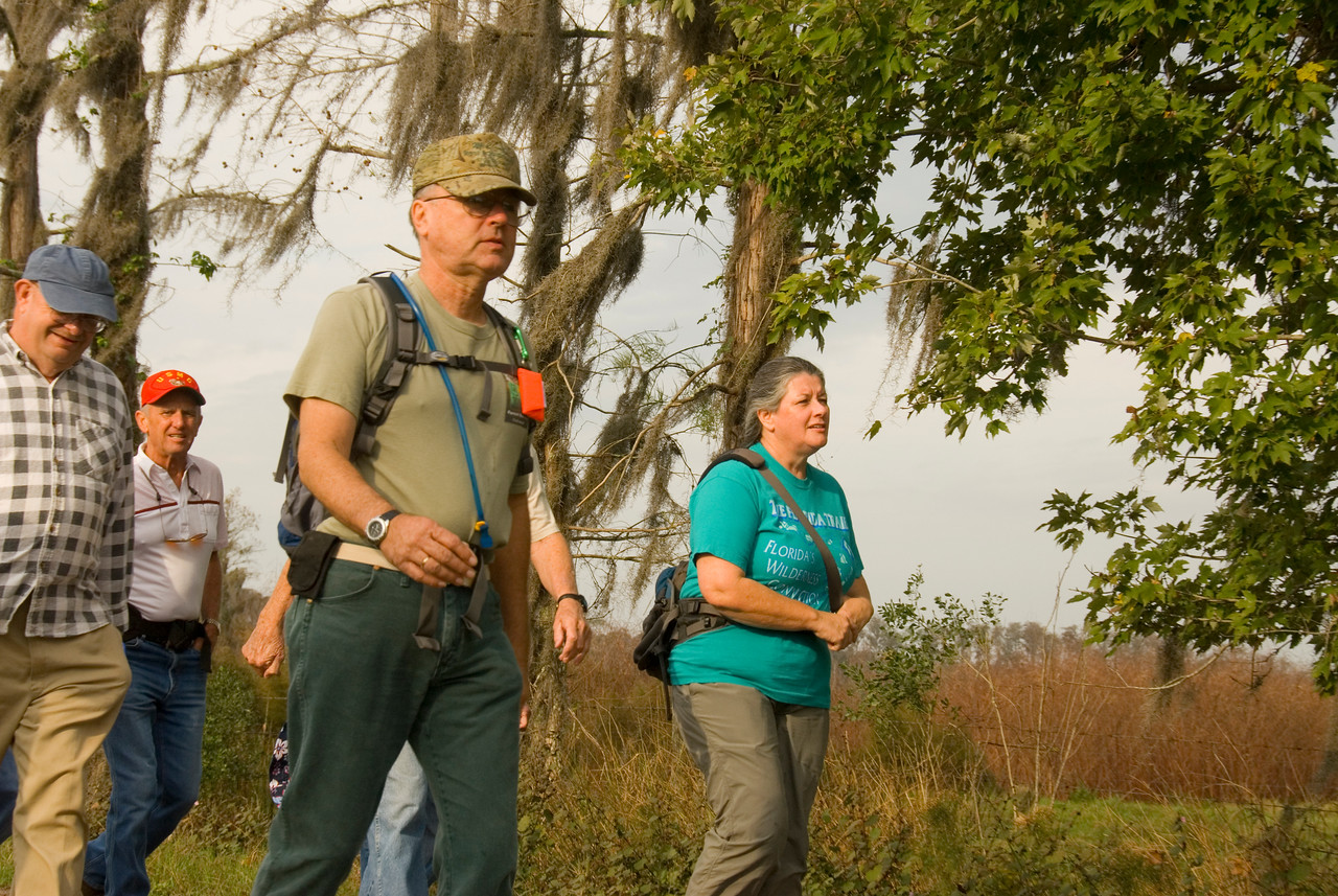 Hiking the Florida Trail <br /> location: Forever Florida<br /> PHOTO CREDIT: M. Timothy O'Keefe / Florida Trail Association
