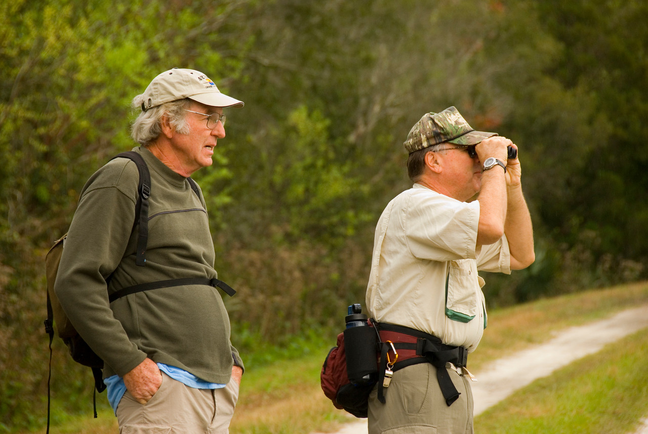 Birdwatching at Orlando Wetlands Park<br /> PHOTO CREDIT: M. Timothy O'Keefe / Florida Trail Association