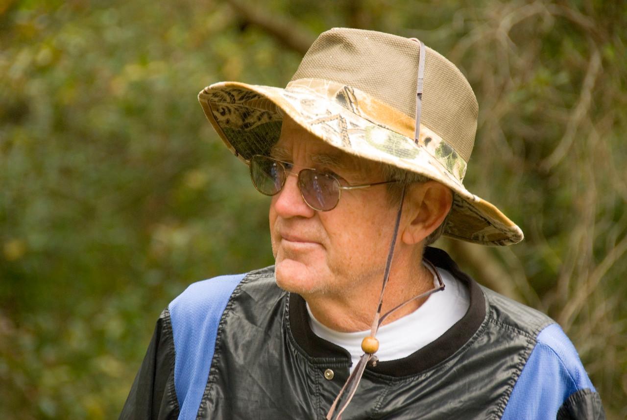 Florida hiker<br /> PHOTO CREDIT: M. Timothy O'Keefe / Florida Trail Association