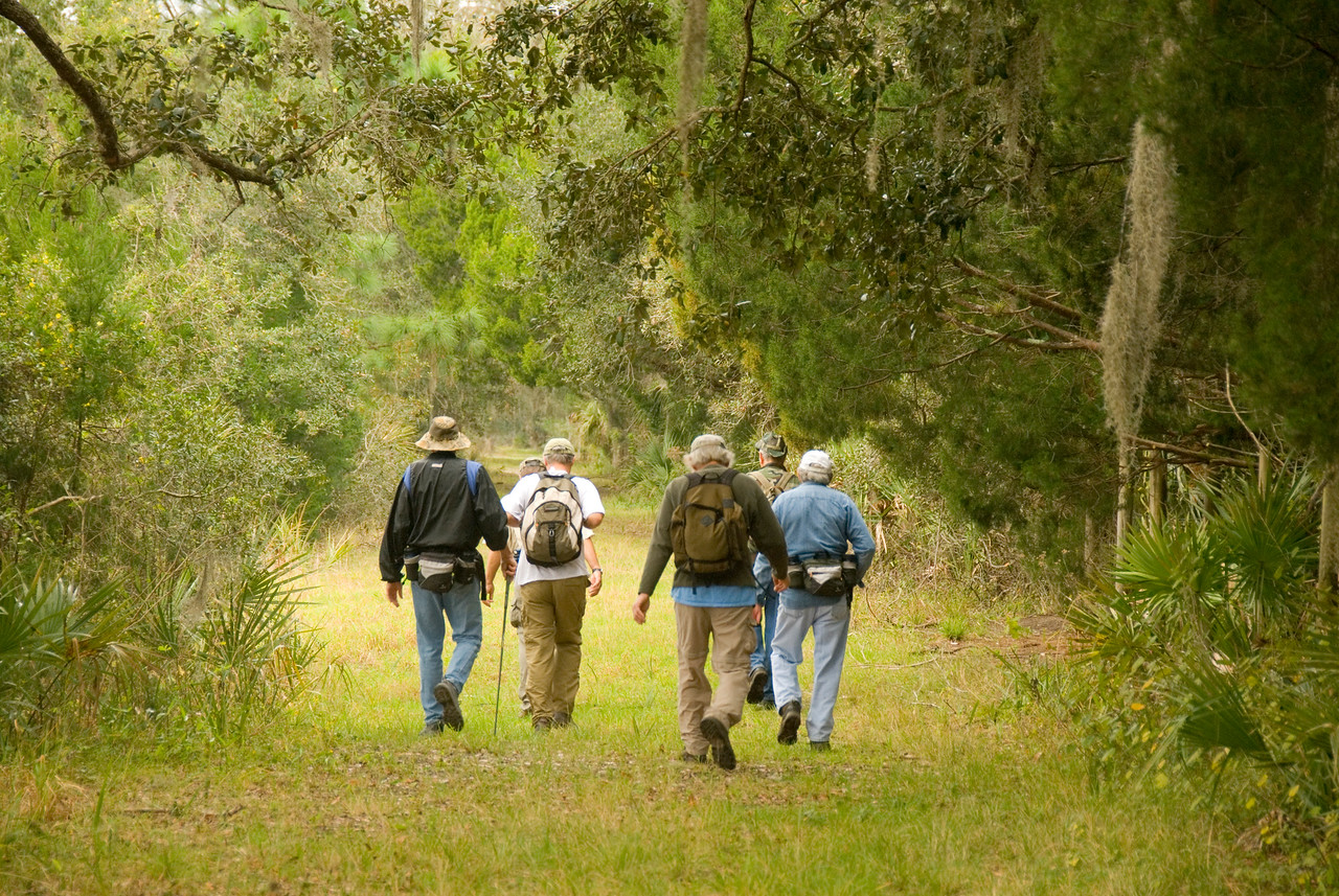 Florida Trail at Orlando Wetlands Park<br /> PHOTO CREDIT: M. Timothy O'Keefe / Florida Trail Association