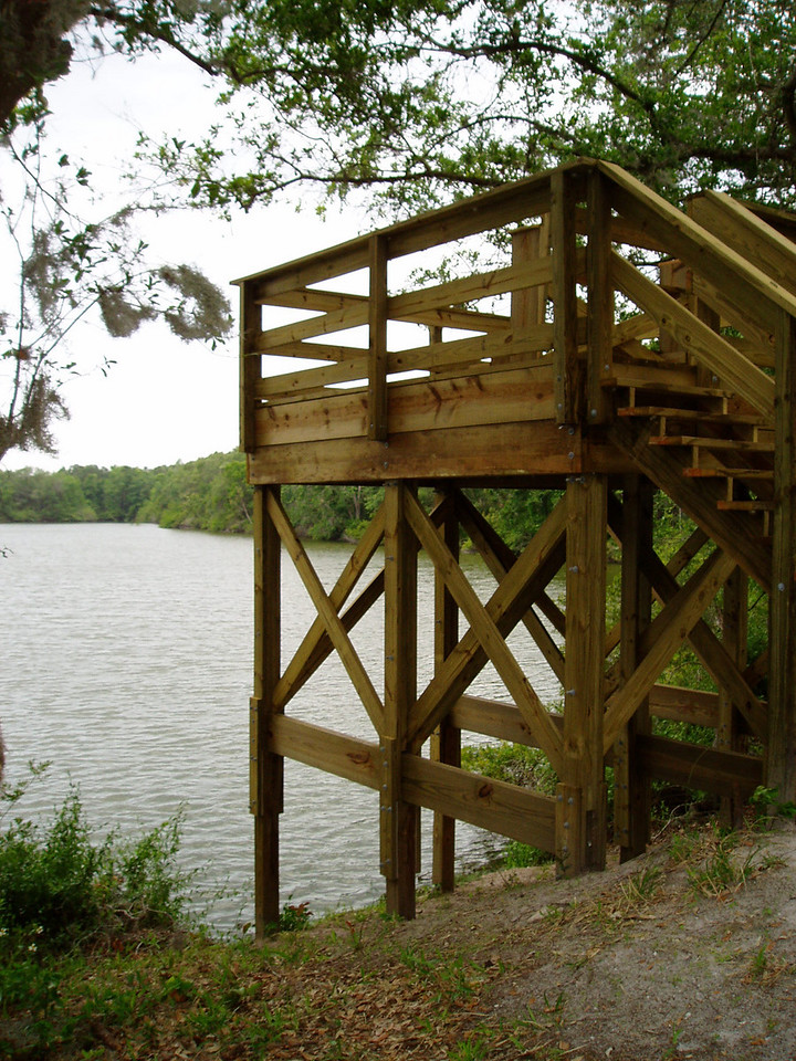 Viewing Platform in Tenoroc<br /> Photo by Deb Blick