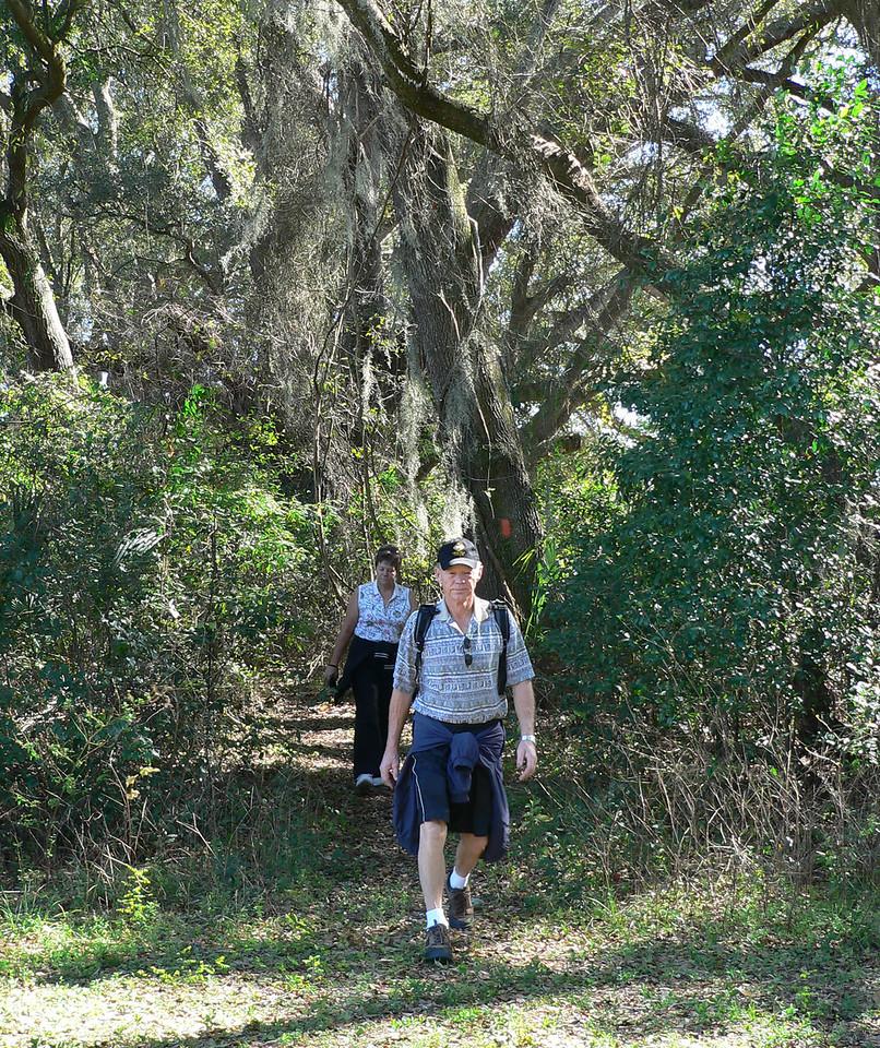 To the Land Bridge!<br /> PHOTO CREDIT: Florida Trail Association / Diane Dammiller