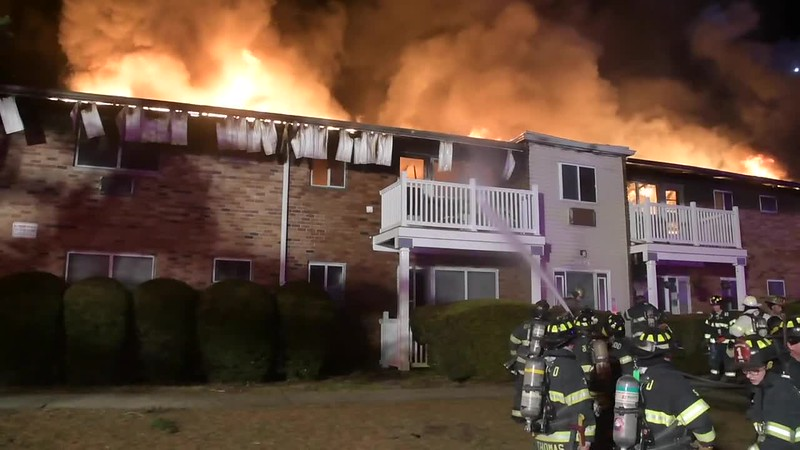 Central Islip Apartment Complex Fire -Paul Mazza