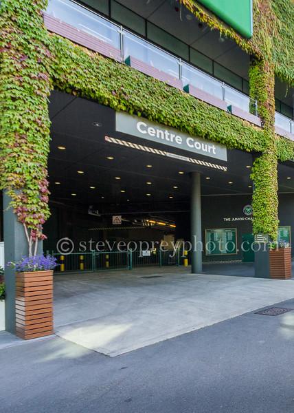 Centre Court Entrance - Wimbledon