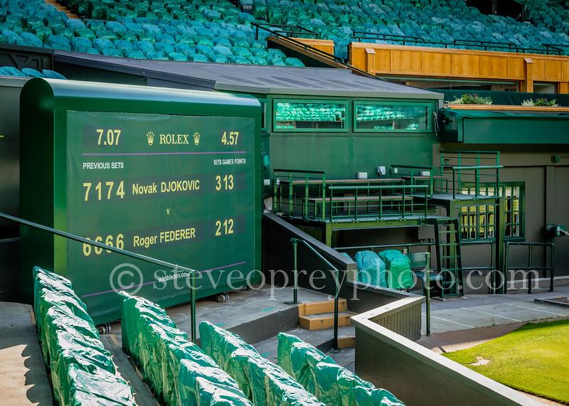 Scoreboard - Centre Court